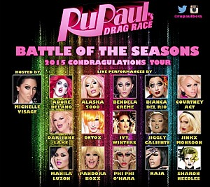 The largest Ru Paul's Drag Race Tour in Herstory is coming to Reykjavik
