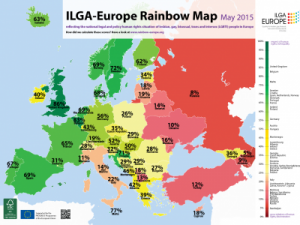 Iceland drops to 12th place on ILGA-Europe 2015 Rainbow Map