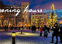 Opening hours during holidays