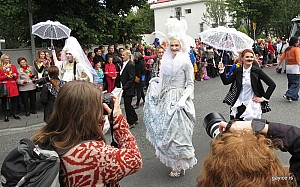 Participate in Reykjavik Pride Parade