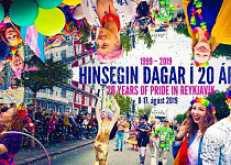 Celebrating 20 years of Pride in Reykjavik